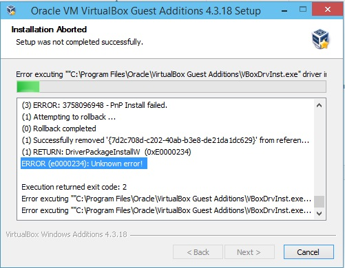 13501 (Vbox Guest Additions fail to install in Windows 10